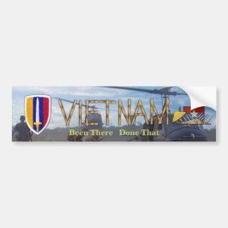 USARV Vietnam Nam War Patch Vets Bumper Sticker Car Bumper Sticker
