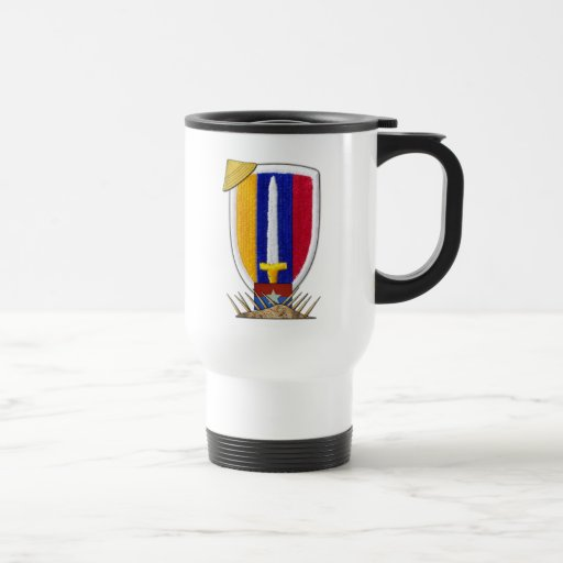 usarv vietnam war patch veterans vets mug