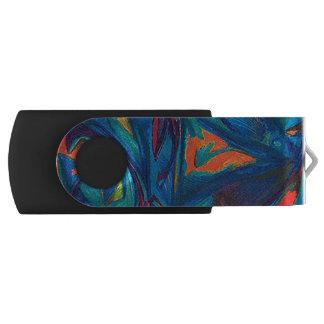 "USB Flash Drive 16g with Original Artwork ""Flow"""