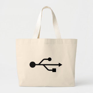 USB Logo Canvas Bag