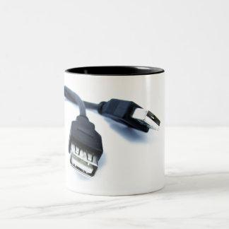 usb nerd mug
