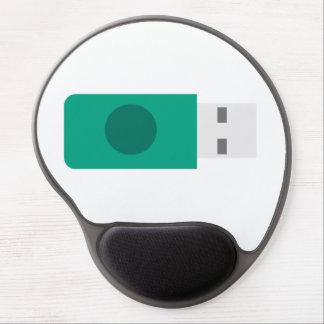 USB Stick Gel Mouse Mat