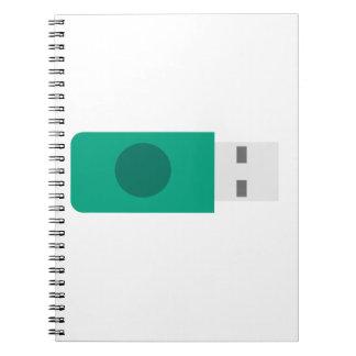 USB Stick Notebook