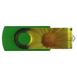 USB yellow sunflower USB Flash Drive