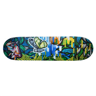 USButterfly Watching - Street Art Sk8 Deck Custom Skate Board