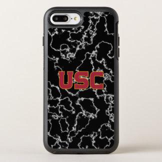 USC Trojans | Black Marble OtterBox Symmetry iPhone 8 Plus/7 Plus Case