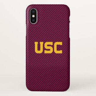 USC Trojans | Fiber Pattern iPhone X Case