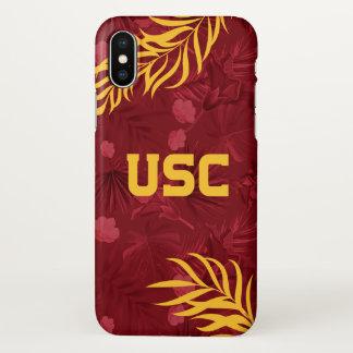 USC Trojans | Hawaiian Pattern iPhone X Case