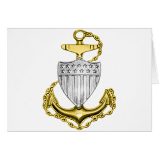 USCG Anchor Greeting Card