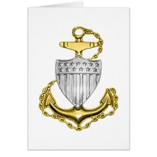 USCG Anchor Greeting Card
