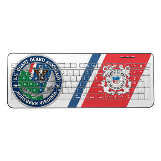 USCG Auxiliary North Virginia Wireless Keyboard