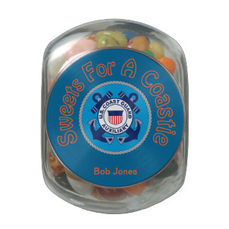 USCG Auxiliary Sweets for a Coastie Candy Tins