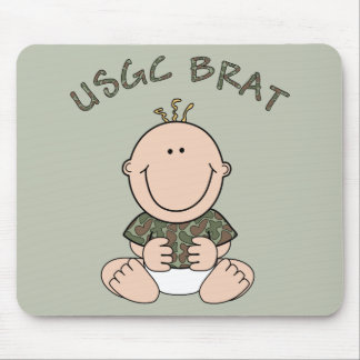 USCG Brat (Boy) Mouse Pad