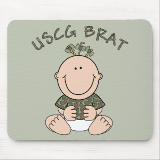 USCG Brat (Girl) Mouse Pad