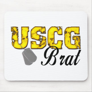 USCG Brat Mouse Pad
