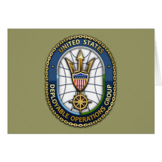 USCG Deployable Operations Group) Greeting Card