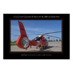 USCG Eurocopter HH-65 Dolphin Poster