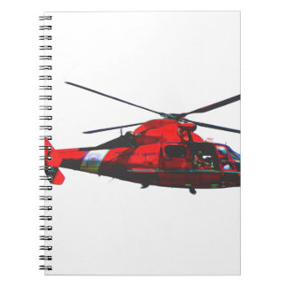 USCG helicopter Notebook