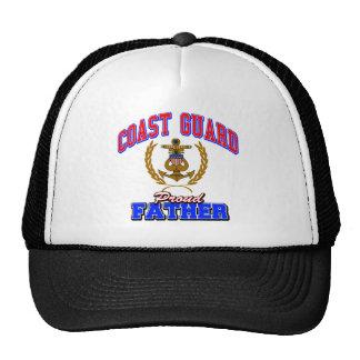 USCG Proud Father Trucker Hat