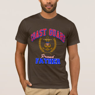 USCG Proud Father T-Shirt