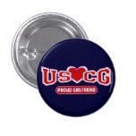 USCG Proud Girlfriend Pins