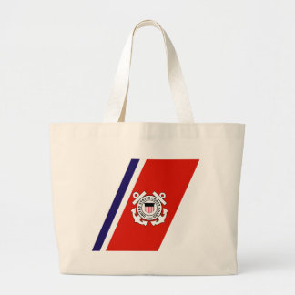 USCG Racing Stripe - Right Tote Bag