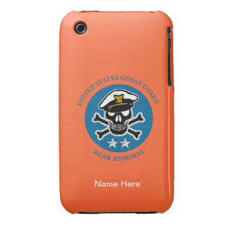 USCG Rear Admiral iPhone 3 Case-Mate Cases