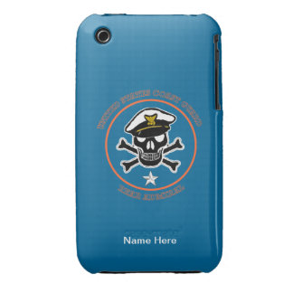 USCG Rear Admiral (lower half) iPhone 3 Case-Mate Cases