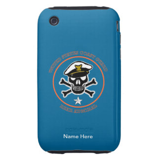 USCG Rear Admiral lower half Tough iPhone 3 Covers
