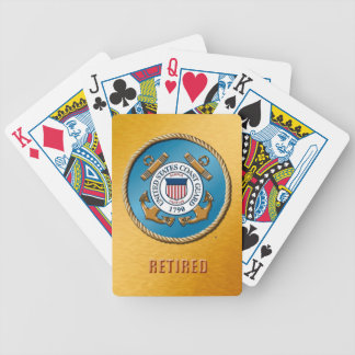 USCG Retired Bicycle® Poker Playing Cards