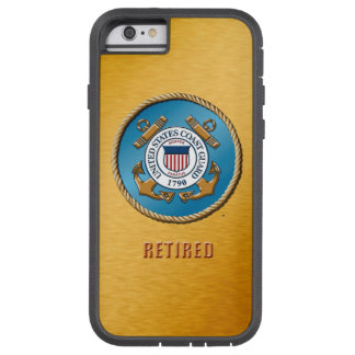 USCG Retired Various iPhone cases