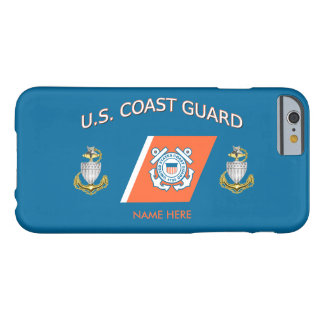 USCG SCPO Racing Stripe Custom iPhone 6 Case