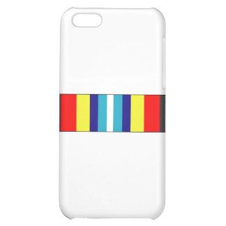 USCG Sea Service Ribbon iPhone 5C Cases
