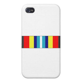 USCG Sea Service Ribbon iPhone 4 Cover