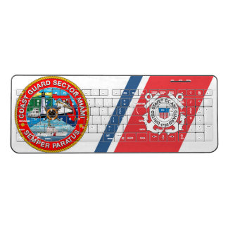 USCG Sector Miami, FL Wireless Keyboard