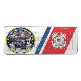 USCG Sector North Carolina Wireless Keyboard