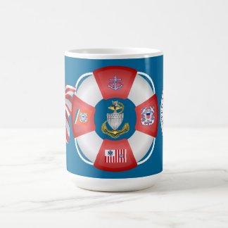 USCG Senior Chief Life-Ring Mug