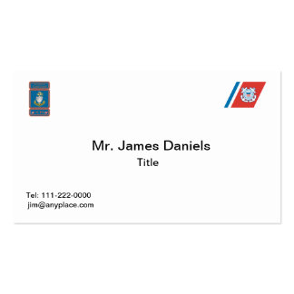 USCG Senior Chief Logo Pack Of Standard Business Cards