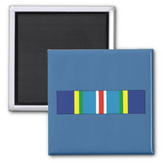 USCG Special Operations Service Ribbon Square Magnet