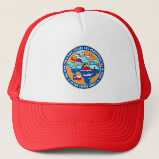 USCG Station Corpus Christi Texas Trucker Hat
