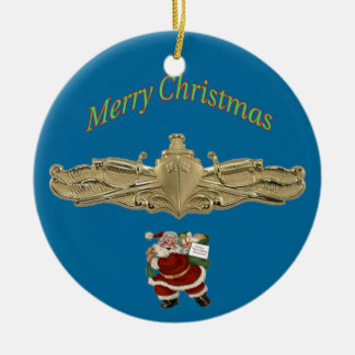 USCG Surface Warfare Officer Badge Ornament