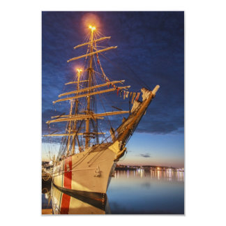 USCG Tall Ship at Halifax Harbour, Nova Scotia, Ca Card