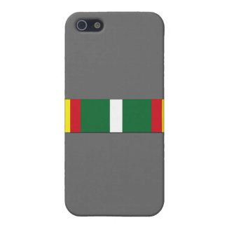 USCG Unit Commendation Ribbon iPhone 5 Covers