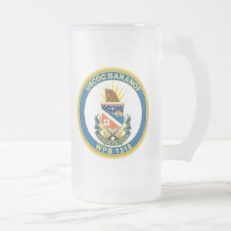 USCGC Baranof WPB-1318 Frosted Beer Mugs