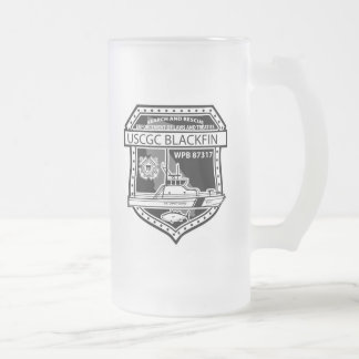 USCGC Blackfin WPB-87317 Frosted Glass Mug