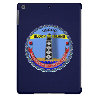 "USCGC Block Island WPB-1344 ""Navy Blue"" iPad Air Cover"