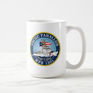 USCGC Farallon WPB-1301 Basic White Mug