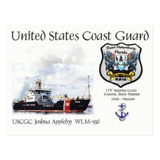USCGC Joshua Appleby  WLM-556 Coastal Buoy Tender Postcard