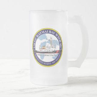 USCGC Katmai Bay WTGB-101 Glass Beer Mug