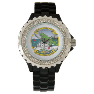 USCGC Key Largo WPB-1324 Wrist Watch